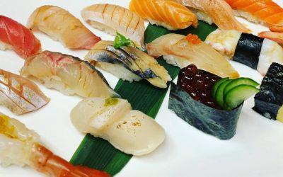 Toyosu Fish Market in Japan